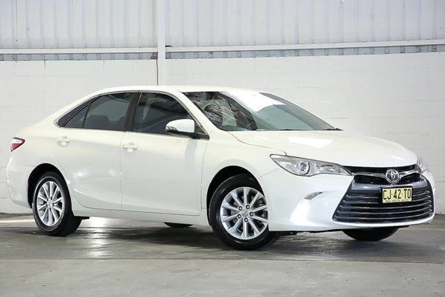 Used Toyota Camry ASV50R Altise West Gosford, 2016 Toyota Camry ASV50R Altise White 6 Speed Sports Automatic Sedan