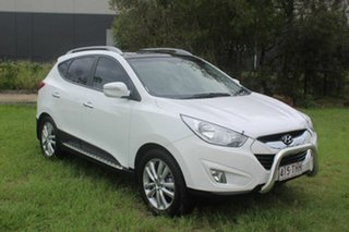 2013 Hyundai ix35 LM3 MY14 Highlander AWD White 6 Speed Sports Automatic Wagon.