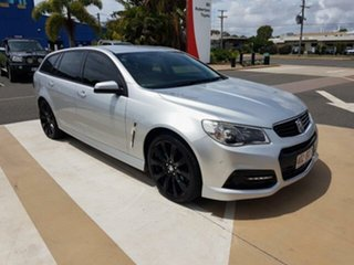 2015 Holden Commodore VF II MY16 SV6 Sportwagon Silver 6 Speed Sports Automatic Wagon.