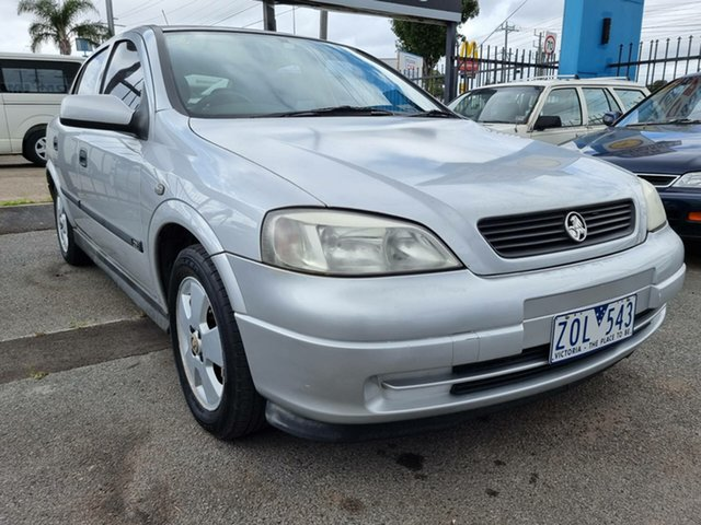 Used Holden Astra TS CD Cheltenham, 2002 Holden Astra TS CD Silver 4 Speed Automatic Hatchback