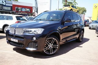 2014 BMW X3 F25 MY14 xDrive 28I Black 8 Speed Automatic Wagon.