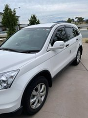 2010 Honda CR-V RE MY2010 Sport 4WD White 5 Speed Automatic Wagon.