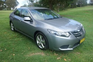 2012 Honda Accord Euro CU MY13 Silver 5 Speed Automatic Sedan.