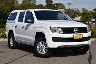 2015 Volkswagen Amarok 2H MY16 TDI420 4MOTION Perm Core White 8 Speed Automatic Utility.