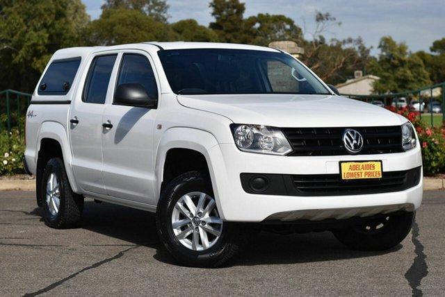 Used Volkswagen Amarok 2H MY16 TDI420 4MOTION Perm Core Enfield, 2015 Volkswagen Amarok 2H MY16 TDI420 4MOTION Perm Core White 8 Speed Automatic Utility