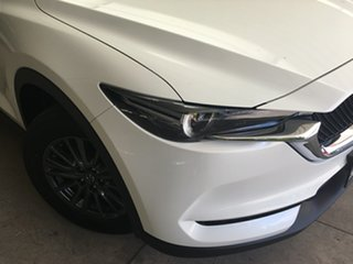 2020 Mazda CX-5 KF2W7A Maxx SKYACTIV-Drive FWD Sport White Pearl 6 Speed Sports Automatic Wagon.
