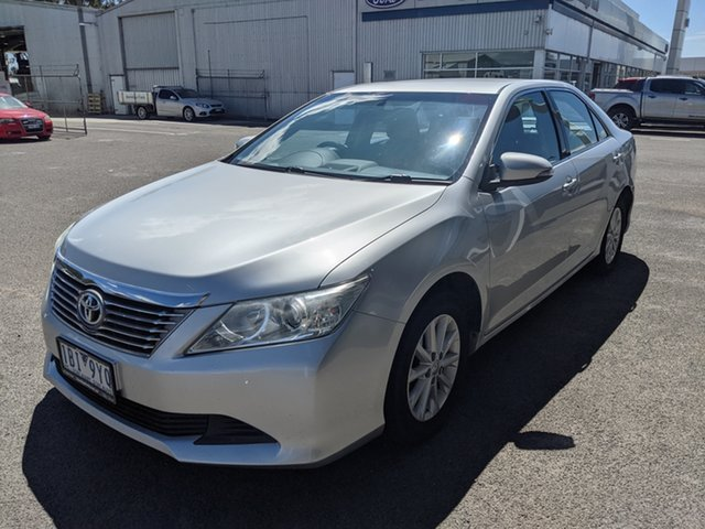 Used Toyota Aurion GSV50R AT-X Epsom, 2014 Toyota Aurion GSV50R AT-X Silver 6 Speed Sports Automatic Sedan