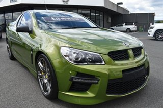 2014 Holden Special Vehicles Maloo Gen-F MY15 GTS Green 6 Speed Sports Automatic Utility.