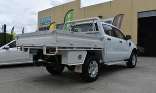 2014 Ford Ranger PX XL 3.2 (4x4) White 6 Speed Automatic Dual Cab Utility.