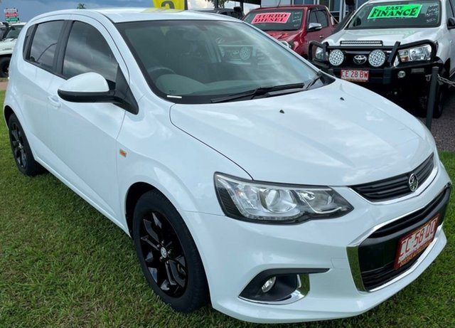 Used Holden Barina TM MY18 LS Winnellie, 2017 Holden Barina TM MY18 LS White 6 Speed Automatic Hatchback