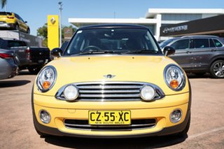 2008 Mini Cooper R56 Yellow 6 Speed Automatic Hatchback