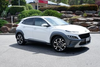 2020 Hyundai Kona Highlander 2WD ATLAS WHITE 8 Speed Constant Variable Wagon