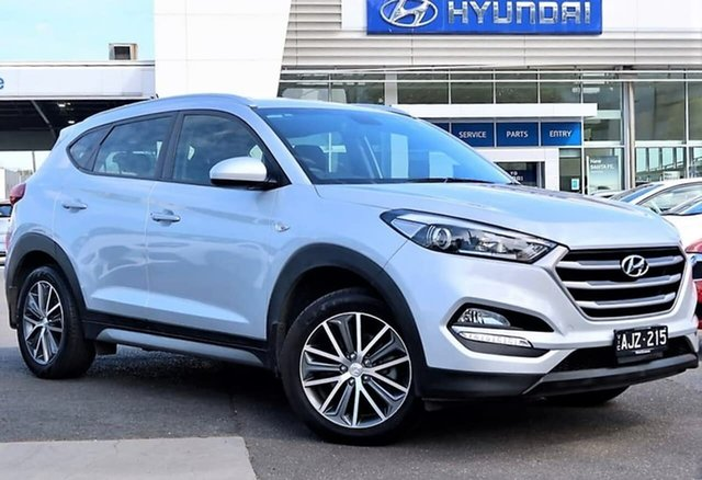 Used Hyundai Tucson TL Active X 2WD South Melbourne, 2016 Hyundai Tucson TL Active X 2WD Silver 6 Speed Sports Automatic Wagon
