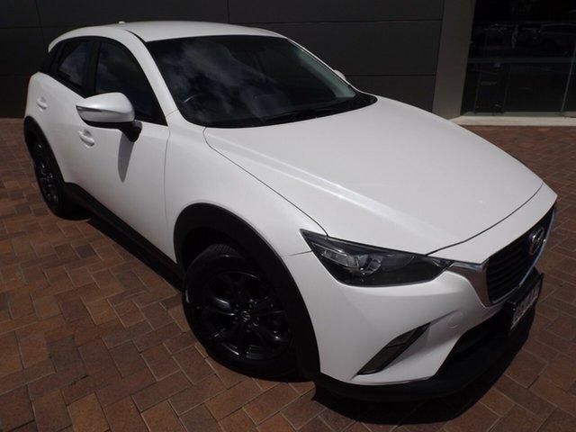 Used Mazda CX-3 DK2W7A Maxx SKYACTIV-Drive Toowoomba, 2016 Mazda CX-3 DK2W7A Maxx SKYACTIV-Drive White 6 Speed Sports Automatic Wagon