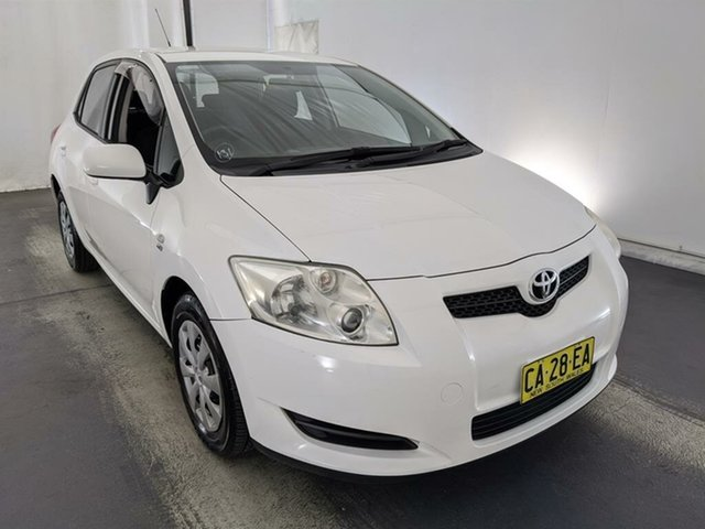 Used Toyota Corolla ZRE152R Ascent Maryville, 2008 Toyota Corolla ZRE152R Ascent White 6 Speed Manual Hatchback