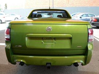 2015 Holden Ute VF II MY16 SV6 Ute Green 6 Speed Manual Utility