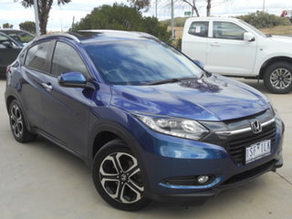 2017 Honda HR-V MY17 VTi-L Blue 1 Speed Constant Variable Hatchback.