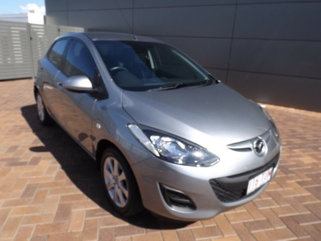 Used Mazda 2 DE10Y2 MY14 Neo Sport Toowoomba, 2014 Mazda 2 DE10Y2 MY14 Neo Sport Grey 4 Speed Automatic Hatchback