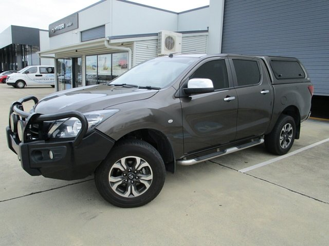Used Mazda BT-50 UR0YG1 XTR Caboolture, 2017 Mazda BT-50 UR0YG1 XTR Titanium Flash 6 Speed Sports Automatic Utility