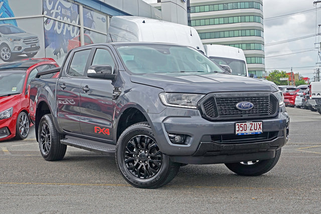 Used Ford Ranger PX MkIII 2020.25MY FX4 Springwood, 2020 Ford Ranger PX MkIII 2020.25MY FX4 Grey 10 Speed Sports Automatic Double Cab Pick Up