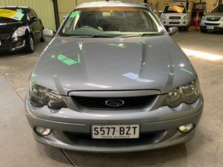 2003 Ford Falcon BA XR8 Silver 4 Speed Sports Automatic Sedan