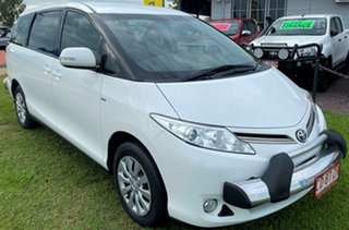 2016 Toyota Tarago ACR50R GLi White 7 Speed Constant Variable Wagon.