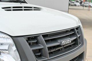 2012 Isuzu D-MAX MY11 SX White 5 Speed Manual Cab Chassis.