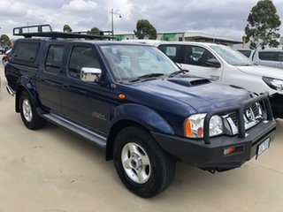 2013 Nissan Navara D22 S5 ST-R Blue 5 Speed Manual Utility.