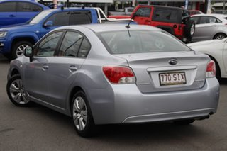 2012 Subaru Impreza G4 MY12 2.0i Lineartronic AWD Silver 6 Speed Constant Variable Sedan.
