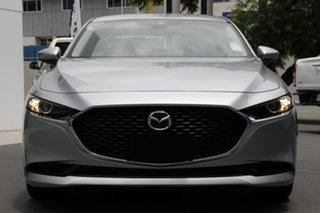2021 Mazda 3 BP2S7A G20 SKYACTIV-Drive Touring Sonic Silver 6 Speed Sports Automatic Sedan