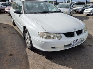 2002 Holden Commodore VX II Executive White 4 Speed Automatic Wagon