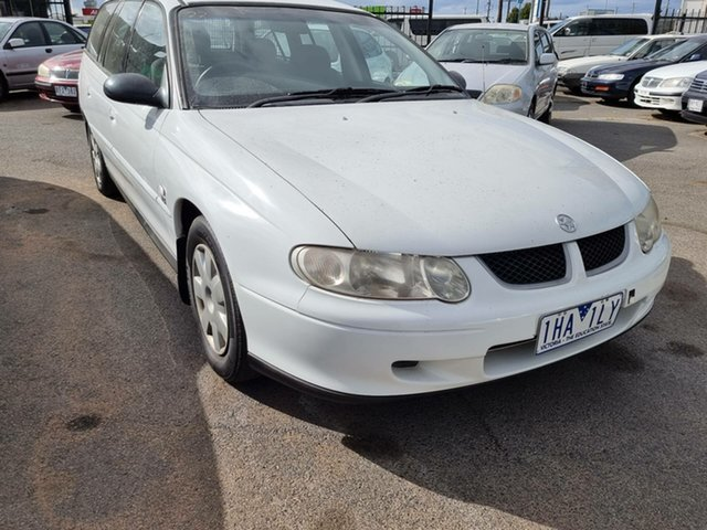 Used Holden Commodore VX II Executive Cheltenham, 2002 Holden Commodore VX II Executive White 4 Speed Automatic Wagon