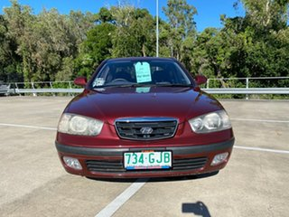 2000 Hyundai Elantra XD GLS Maroon 4 Speed Automatic Sedan