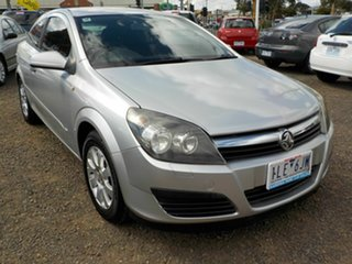 2006 Holden Astra AH MY06 CD Silver 5 Speed Manual Coupe.