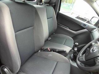 2017 Mazda BT-50 MY16 XT (4x2) Black 6 Speed Manual Cab Chassis