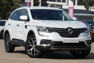 2020 Renault Koleos XZG MY20 Intens X-Tronic (4x2) Universal White Continuous Variable Wagon.