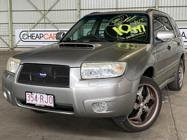 Used Subaru Forester 79V MY05 XT AWD Rocklea, 2005 Subaru Forester 79V MY05 XT AWD Silver 4 Speed Automatic Wagon