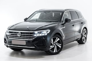 2020 Volkswagen Touareg CR MY20 190TDI Tiptronic 4MOTION Premium Black 8 Speed Sports Automatic.