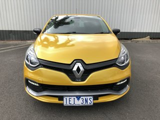 2014 Renault Clio X98 RS 200 Sport Yellow 6 Speed Automatic Hatchback
