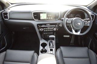 2020 Kia Sportage QL MY21 GT-Line AWD Snow White Pearl 8 Speed Sports Automatic Wagon