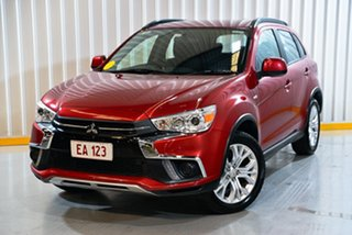2018 Mitsubishi ASX XC MY19 ES 2WD Red/Black 1 Speed Constant Variable Wagon.