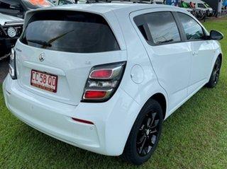 2017 Holden Barina TM MY18 LS White 6 Speed Automatic Hatchback.