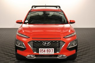 2017 Hyundai Kona OS MY18 Elite D-CT AWD 7 speed Automatic Wagon.