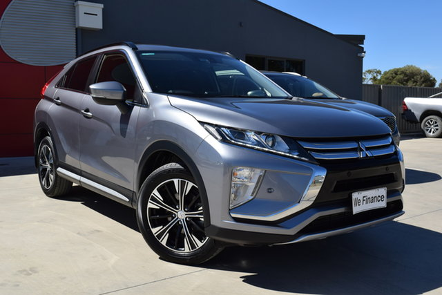 Used Mitsubishi Eclipse Cross YA MY18 LS 2WD Echuca, 2018 Mitsubishi Eclipse Cross YA MY18 LS 2WD Silver 8 Speed Constant Variable Wagon