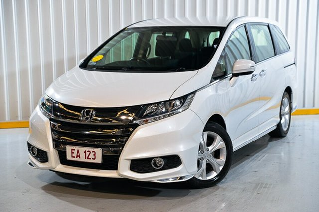 Used Honda Odyssey RC MY19 VTi Hendra, 2019 Honda Odyssey RC MY19 VTi White 7 Speed Constant Variable Wagon