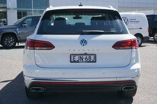 2020 Volkswagen Touareg CR MY20 190TDI Tiptronic 4MOTION White 8 Speed Sports Automatic Wagon