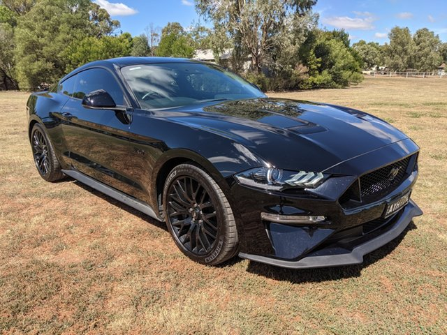 Used Ford Mustang GT Epsom, 2018 Ford Mustang GT Black Automatic Hatchback
