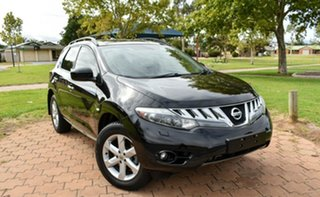 2011 Nissan Murano Z51 Series 2 MY10 TI Black 6 Speed Constant Variable Wagon.
