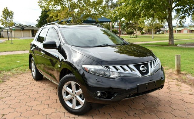 Used Nissan Murano Z51 Series 2 MY10 TI Ingle Farm, 2011 Nissan Murano Z51 Series 2 MY10 TI Black 6 Speed Constant Variable Wagon