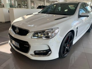 2015 Holden Commodore VF II MY16 SS V Redline White 6 Speed Sports Automatic Sedan